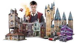 280Piece WREBBIT 3D Harry Potter The Knight Bus <b>3D Jigsaw Puzzle</b>