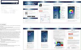 Blue Sky Wireless Light Bulb 60100s Led Bluetooth Light Bulb Speaker User Manual 022