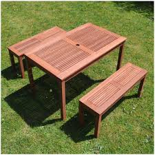 impressive outdoor wooden table and chairs of garden furniture plans miami