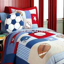 soccer bedding sheets soccer bedding sheets free rugby football kids set baseball boys handmade applique