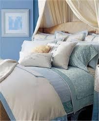 ralph lauren indochine linen cream blue linen 12pc king duvet cover set new
