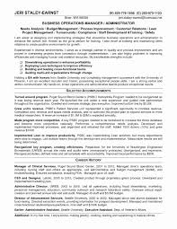 Hr Operations Resume Sample Amazing Business Management Resume
