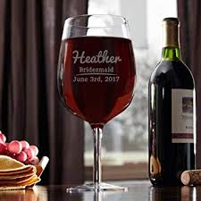 amazon giant wine glass. Brilliant Glass The Big Day Extra Large Giant Wine Glass Customizable Product To Amazon N