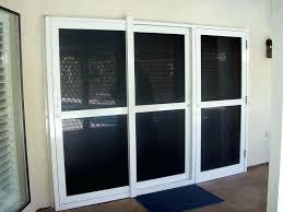 marvelous 4 panel sliding patio doors medium size of with built in blinds problems 3 door