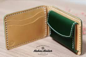 leather card wallet pdf pattern diy