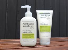 neutrogena naturals fresh cleansing makeup remover and purifying cream cleanser