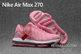 Womens Nike Air Max 270 Trainers Kpu Tpu Pink White Online