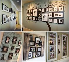 10 cool ways to decorate your walls with family photos a