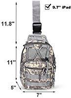 Peicees <b>Outdoor Tactical Backpack</b>, <b>Military Sport</b> Pack Daypack ...
