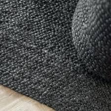 grey jute rug nights rug jute black grey jute rug uk