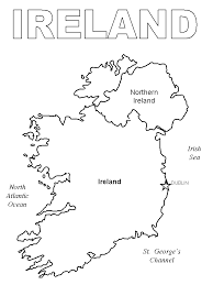 Ireland 1 Coloring Pages