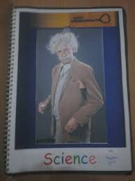 mission school projects cover page facts and designs this cover page contains a powerpoint background a printed picture of albert einstein a very simple way to make your page look good