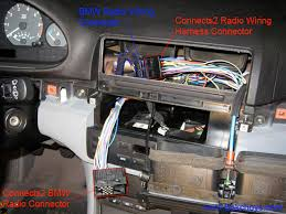 bmw e46 diy bluetooth parrot ck3000 and connects2 c pull connects2 radio plug end into the radio area reconnect smaller connector to connects2 main radio plug