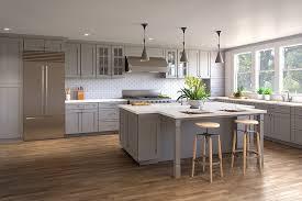 Nova Light Gray Cabinets