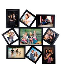 deep large 9 in 1 designer photo frame collage black deep large 9 in 1 designer photo frame collage black at best in india on snapdeal
