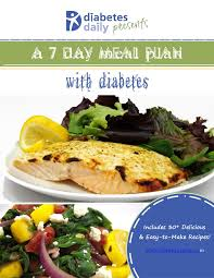 7 day diabetic meal plan diabetes ebook a 7 day meal plan with diabetes