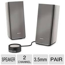 office speaker system. bose companion 20 multimedia speaker system office d