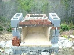 building outdoor fireplace how to build an part 2 stone fireplaces much does a cost f it in your home t