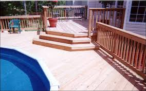 Above ground pool with deck attached to house Decking Maconga Above Ground Pooldeck Macon Warner Robins Decks Patios Porches Pergolas Gazebos And More Pool Decks And Patios Archadeck Of Central Ga