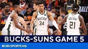 Bucks vs Suns Game 5 FULL Recap ...