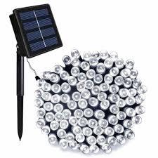 Solar Powered Automatic Lights Details About New Ora 100 Led Solar Powered String Lights With Automatic Sensor Black 55 Ft