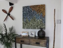 interior design wood wall art