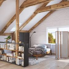 Designs by Style: Upstairs Home - Slanted Ceilings  Exposed Ceiling Beams