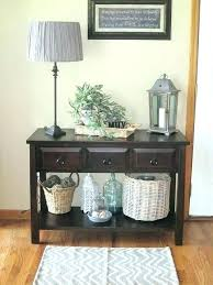 Entry Hall Ideas Table For Decor Plan