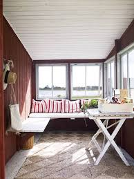 If you wonder how to decorate a sunroom - don't. If it's like