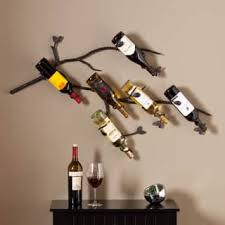 long wall wine rack. Delighful Wall The Curated Nomad Roma Wall Mounted Branch Wine Rack Sculpture To Long R