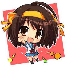 anime characters chibi.  Chibi CHIBI  Chibi Anime Gallery Haruhi Suzumiya Girl Characters With R
