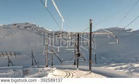 Winter Landscape Snow Image Photo Free Trial Bigstock