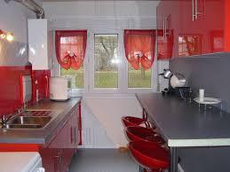 Superb Faience Cuisine Design Avec Cuisine Rouge Et Blanc S Idee Deco Cuisine  Rouge Et Blanc Idees