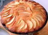 autumn apple sponge cake