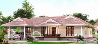 Kerala Home Design One Floor Plan Kerala Model Single Storied Home Kerala House Design