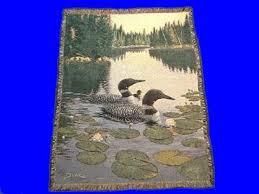 Loon Throw Blanket