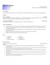 Entry Level Accounting Resume Examples | Resume Examples And Free