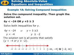 holt algebra 2 2 8 solving absolute value equations and inequalities example 1a