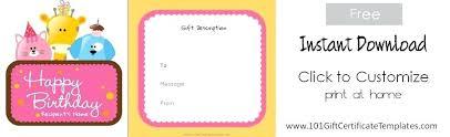 Shopping Spree Gift Certificate Template Spree Template Elevenia Co