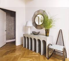 historic modern wood furniture. Revamped Art-Filled Modern Apartment In NY Historic Building Wood Furniture