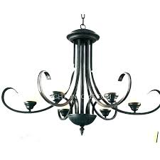 chandeliers custom wrought iron chandelier chandeliers hand forged signed candle also wroug