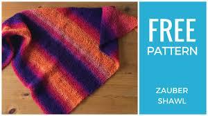 Knit Shawl Pattern Free Awesome Decoration