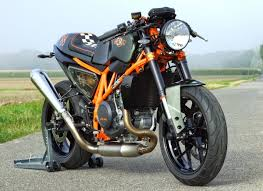 rocketgarage cafe racer kit de conversi n metisse cr690 ktm