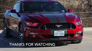 Red Halo Lights For Mustang 2015 Mustang Gt Oracle Halo Installation Crow Concepts 1