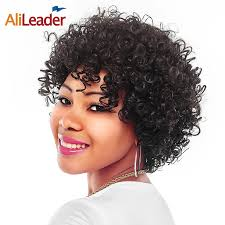 Short Natural Afro Hairstyles Online Get Cheap Short Natural Curly Hair Styles Aliexpresscom