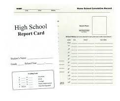Homeschool Report Card Homeschool Report Card Sample