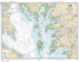 12230 Chesapeake Bay Smith Point To Cove Point Nautical Chart