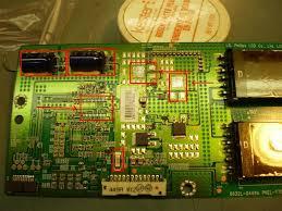 lg tv fuse. shorted mosfets on inverter board removed lg tv fuse r