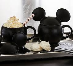 Shop with afterpay on eligible items. Disney Mickey Mouse Stoneware Lidded Mugs Pottery Barn