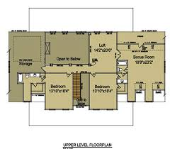 Hill Country Cottage House Plan  House Plans By Garrell Country Floor Plans